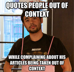 QUOTES OUT OF 