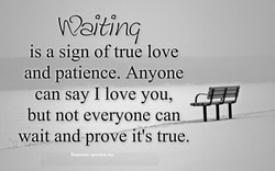 is a sign of true love 