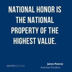 NATIONAL HONOR IS 