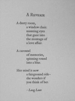 A REVERIE 