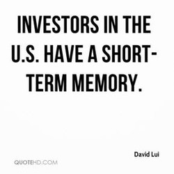 INVESTORS IN THE 