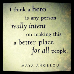 I think a hero 