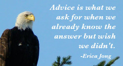 Advice is what we 