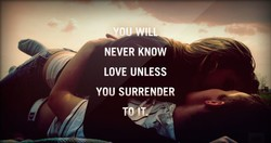 NEVER KNOW 