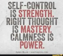SELF-CONTROL 