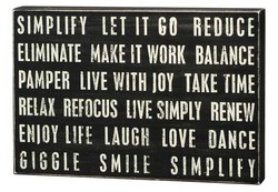 SIMPLIFY IT GO REDUCE 