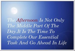Afternoon 