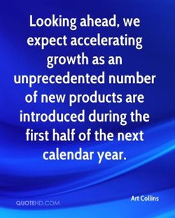 Looking ahead, we 