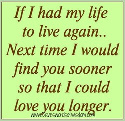 If I had my life 