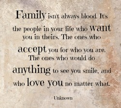 Family isnX always blood It's 