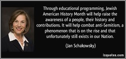 Through educational programming, Jewish 