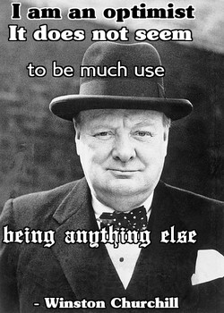 I am an optimist 