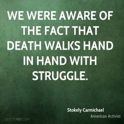 WE WERE AWARE OF 
