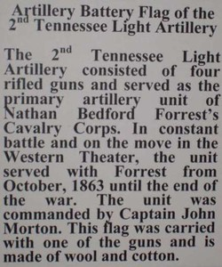 Artillery Battery Flag of the 