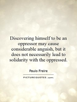 Discovering himself to be an 