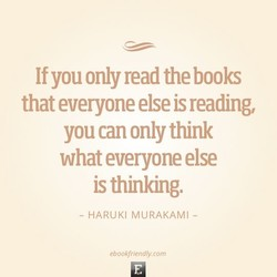 If you only read the books 