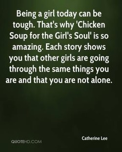 Being a girl today can be 
