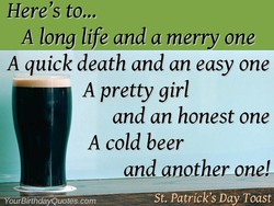 Here's to... 