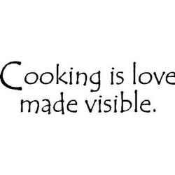 ooking is love 