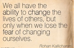 We all have the 