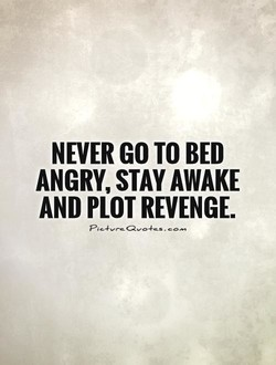 NEVER GO TO BED 