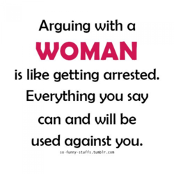 Arguing with a 