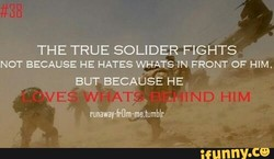 THE TRUE SOLIDER FIGHTS 