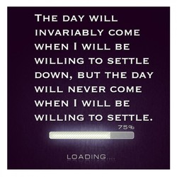 THE DAY WILL 