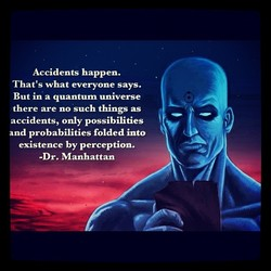 Accidents happen. 