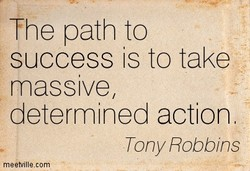 The path to 