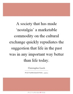 A society that has made 
