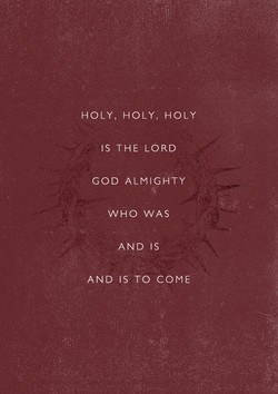 HOLY, HOLY, HOLY 