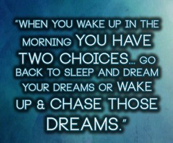 @WHEN YOU WAKE UP IN THE 