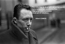 The only way to deal with an unfree world 