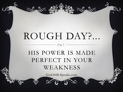 ROUGH DAYP 