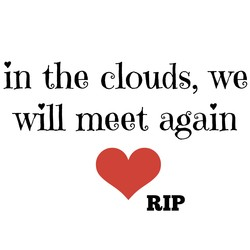 in the clouds, we 