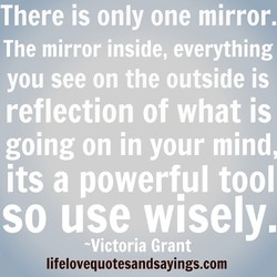 There is only one mirror. 