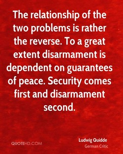 The relationship of the 