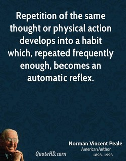 Repetition of the same 
