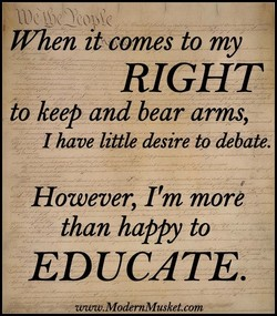 When at comes to my 
