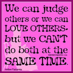 We can judge 
