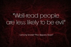 II Well-read people 