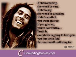 If she's amazing 