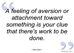 A heeling of aversion or 