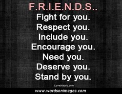 F.R.I.E.N.D.S.. 