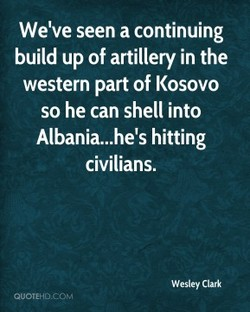 We've seen a continuing 