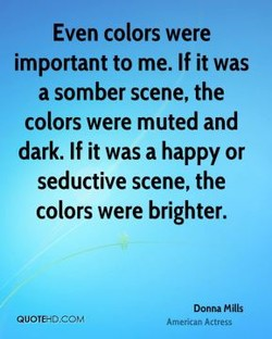 Even colors were 
