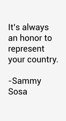 It's always 