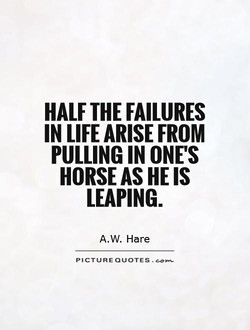 HALF FAILURES 