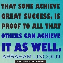 THAT SONE ACHIEVE 